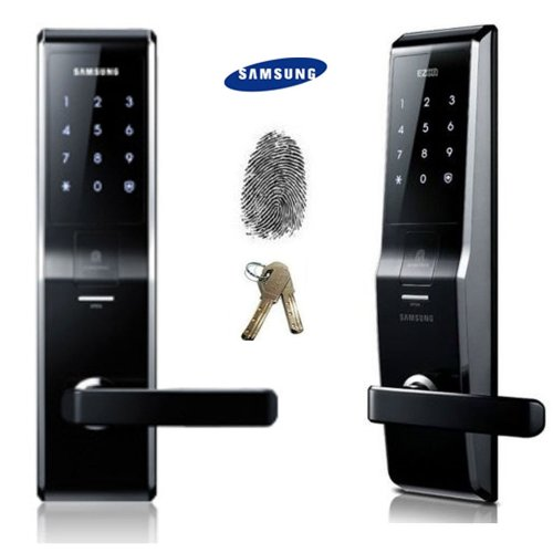 samsung ezon shs h700 digitales t rschloss fingerabdruck schl ssellos touchpad. Black Bedroom Furniture Sets. Home Design Ideas