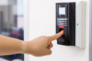elektronisches Türschloss mit Fingerprint