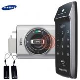 2 an Schlüsselanhängern SAMSUNG SHS - 2320 Digitales Türschloss schlüsselloses touchpad Sicherheit EZON 2 Klammern, Schrauben - 1