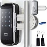 2 Stücke von Schlüsselanhängern + SAMSUNG SHS-G510 Digitales Türschloss touchpad EZON schlüsselloses Sicherheit für Fenster Tür - 1