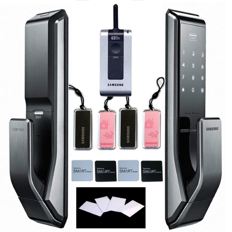 samsung shs p710 digitales t rschloss schl sselloses touchpad ezon sicherheit elektronische. Black Bedroom Furniture Sets. Home Design Ideas